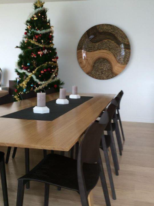 Anthony & Fiona's Oak table